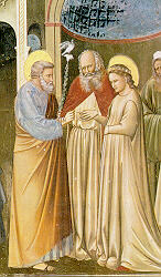 The marriage of Joseph and Mary